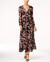 Bardot Floral-Print Cutout Maxi Dress