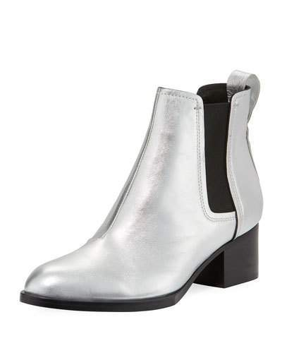 Rag & Bone Walker III Metallic Gored Bootie