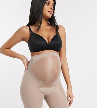 Spanx Maternity Mama Shapewear Shorts in beige