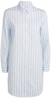 Derek Rose Cotton Striped Nightshirt