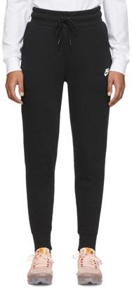 Nike Black NSW Tech Fleece Lounge Pants