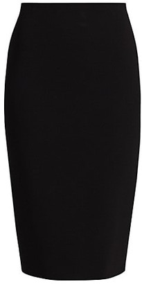 Victoria Beckham Crepe Pencil Skirt