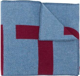 Isabel Marant Loli loog-jacquard blanket scarf