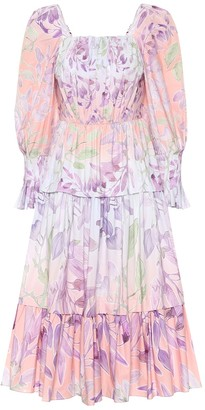 Peter Pilotto Floral cotton dress