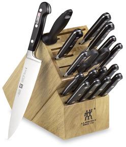 "Zwilling J.A. Henckels Zwilling J. A. Professional ""S"" 18-Piece Jumbo Knife Block Set"