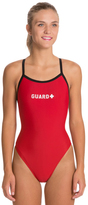 Sporti Guard Piped Thin Strap One Piece Swimsuit 22678