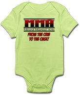 CafePress - MMA - From The Crib To The Ca - Cute Infant Bodysuit Baby Romper