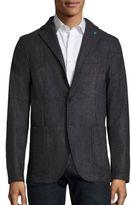 Eidos In Esilio Augusto Unconstructed Wool Sport Jacket