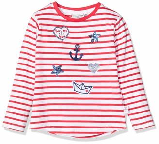 Salt&Pepper Salt & Pepper Girl's Maritime Applikationen Mit Stickerei Und Pailletten Long Sleeve Top