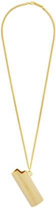 Ambush Gold Large Lighter Case Necklace