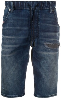 Diesel Knee-Length Denim Shorts