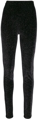 Philosophy di Lorenzo Serafini multicoloured glitter leggings