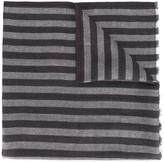 Ermenegildo Zegna striped scarf - men - Silk/Cashmere/Inox - One Size