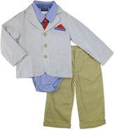 Nanette Baby 4-pc. Suit Set Baby Boys