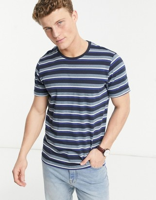 Selected Sonni o-neck striped T-shirt