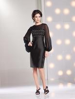 Social Occasions by Mon Cheri - 213897 Short Dress In Black