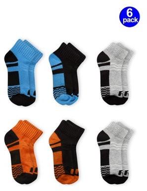 Russell Active Boys Ankle Socks 6 Pack Socks