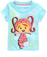 Children's Apparel Network Team Umizoomi Milli Aqua Puff-Sleeve Tee - Toddler