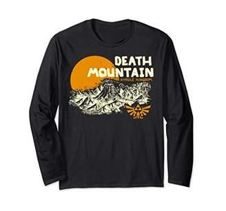 Nintendo Legend Of Zelda Hyrule Death Mountain Scenery Long Sleeve T-Shirt