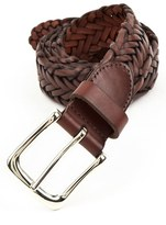 Trafalgar Men's 'Sullivan' Braided Leather Belt