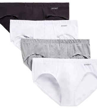 2xist No Show Bikini Brief 4-Pack