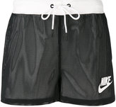 Nike mesh track shorts - women - Polyester - S