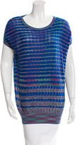 M Missoni Cap Sleeve Knit Top