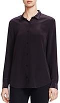 The Kooples Silk Crepe de Chine Shirt