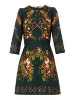 uncategorized  Who made Michelle Monaghans black key print dress?