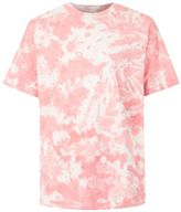 Topman FINDS Pink and Off White Tie Dye T-Shirt