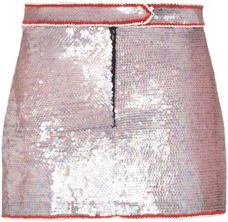 Ashley Williams Sequin Mini Skirt