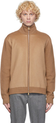 Dunhill Tan Camel Front Track Jacket