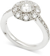 Marchesa Diamond Engagement Ring (1 ct. t.w.) in 18k White Gold