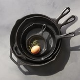 Crate & Barrel Lodge ® Cast Iron Skillets