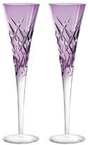"""Vera Wang Duchesse Encore"""" Color Champagne Flute, Pair"""