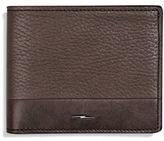 Shinola Bolt Leather Bi-Fold Wallet