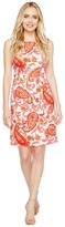 Christin Michaels Pana Printed Shift Dress Women's Dress