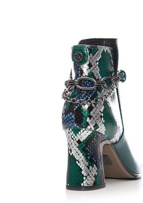 Moda In Pelle Kannes Teal Leather