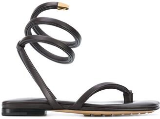 Bottega Veneta Spiral sandals