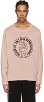 Stella McCartney Pink Cat T-Shirt