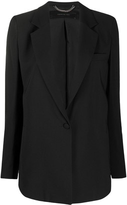 FEDERICA TOSI Fitted Single-Breasted Blazer