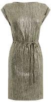 "Oasis PLISSE T SHIRT DRESS [span class=""variation_color_heading""]- Gold[/span]"