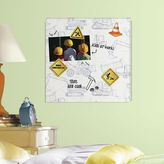 Roommates Construction 5-piece Magnetic Dry Erase Wall Art Set