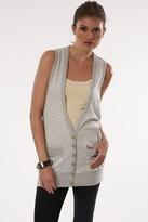 Heartloom Vestry Vest in in Grey