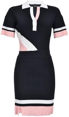 Pinko Pleated Polo Dress