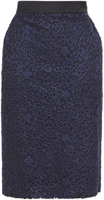 Paul Smith Embroidered Tulle Pencil Skirt