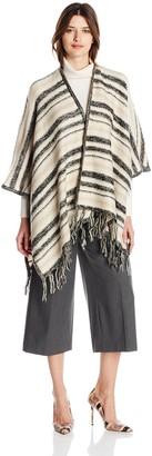 Kensie Women's Tissue Knit Blanket Cardigan Sweater
