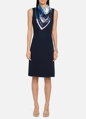 St. John Duo Milano A-Line Dress
