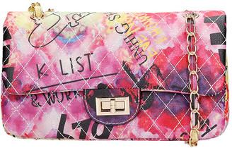 Marc Ellis Ghetty M Shoulder Bag In Fuxia Leather