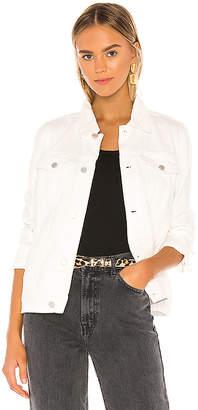Blank NYC Blanknyc BLANKNYC White Denim Trucker Jacket